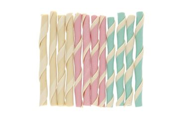 BONE FRUIT STRAWS 10CM 12PCS.