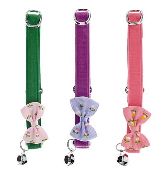 DISPLAY CHATCOLLAR FLEURS 9PCS