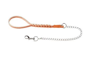 BUFFALO LEASH W.SHORT CHAIN CM.80