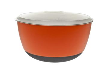 ANTISLIP BOWLS WITH LID 3PCS