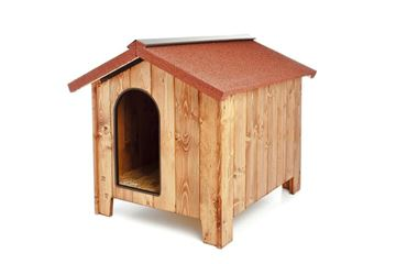 FUSS DOG KENNEL MEDIUM 100X75X78H C