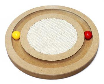 Εικόνα της WOODEN CAT GAME PUZZLE 25CM