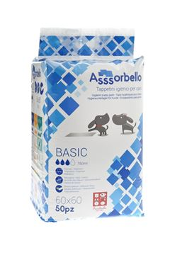 Εικόνα της BASIC PADS ASSSORBELLO 60X60 1X50PC