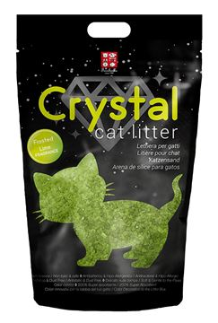 CRYSTAL CAT LITT.FRO.LIME 1,6KG X 8