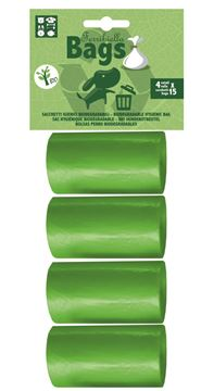 Εικόνα της BIODEGRADABLE BAGS 15X4ROLLS