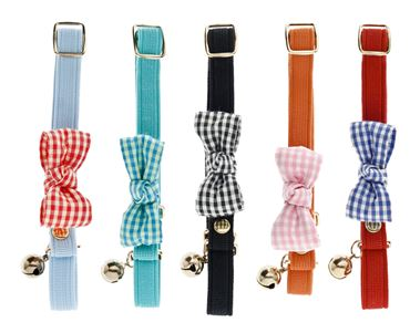 Изображение RIBBON CAT COLLAR VICHY 10PCS.
