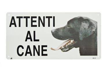 """Bild von METAL POSTER  """"BEWARE OF DOG""""  MEDI"""