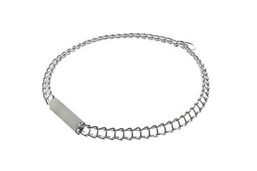 CHROMIUM PLATED COLLAR 1,3X40CM