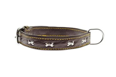 Bild von OFF SOFT LEATHER COLLAR W. BONES