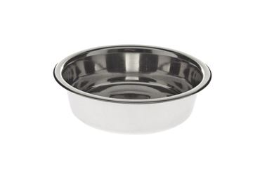 INOX CAT BOWL D.12,5CM-O,3L ECO