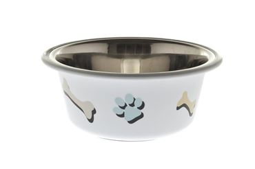Bild von OFF BOWL PAW AND BONE 0,40 LT 13CM WHITE