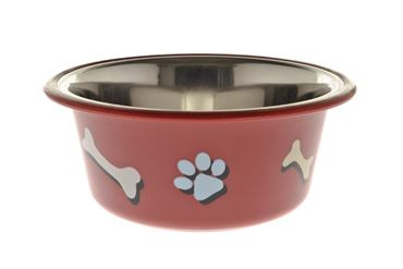 Bild von OFF BOWL PAW AND BONE 0,40 LT 13CM RED