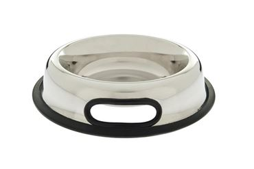 INOX BOWL RUBB.HANDLE D.17,5-0,95LT