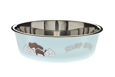 BOWL FUSS-BELLA S CM.14 450ML LIGHT BLUE