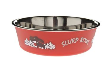 BOWL FUSS-BELLA S CM.14 450ML RED