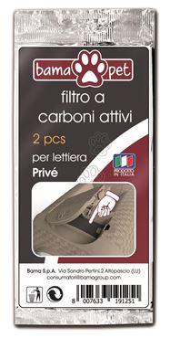 CARBON FILTER FOR PRIVE' TUB 2PZ