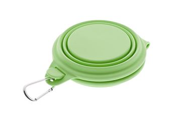 SILICONE DOUBLE BOWL 210MLX2 GREEN