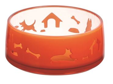 BOL DUOWORLD M 650ML-14,8X6,2CM ORANGE