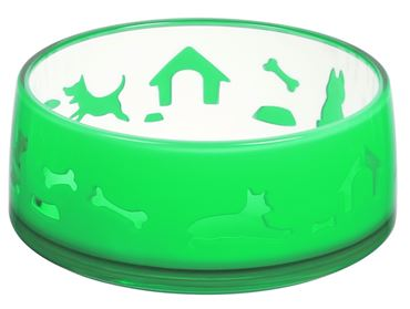 DUOWORLD BOWL L 1000ML-17,3X7,2CM GREEN