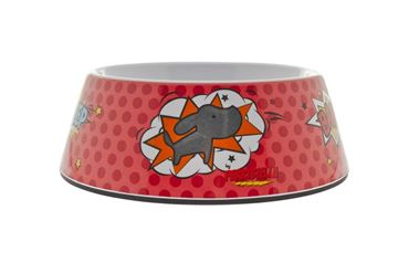 Изображение MOTIF BOWL L 1160ML-22,8X8,5CM RED