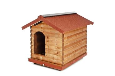 PINE WOOD KENNEL  CM.110X90X95H