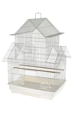 VICENZA CANARY CAGE 47X36X68 WHITE