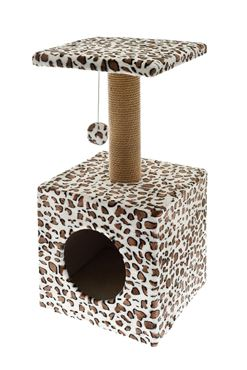 LEOPARDO CAT TREE 30X30X62CM