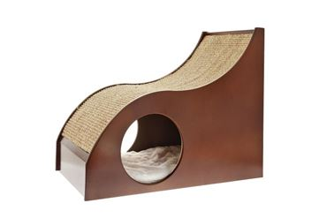 SLIDE W. BURROW CAT TREE 40X30X48,5
