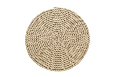 JUTE ROUND SCRATHING CARPET 40X1CM