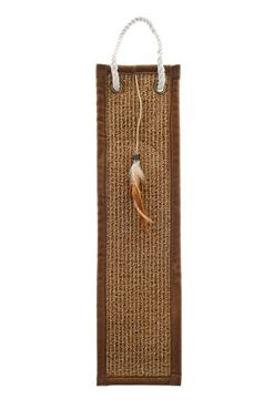 MAT SCRATCHING POST W/TOY 50X14X0,5