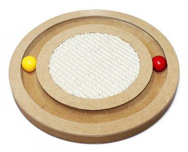 Bild von WOODEN CAT GAME PUZZLE 25CM