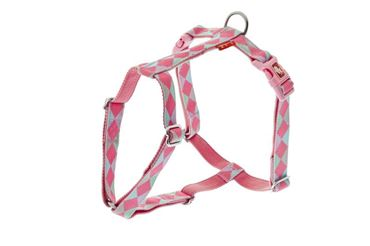 ADJUST.HARNESS COLOR 10MMX30-40CM PINK J