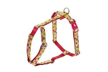 ADJUST.HARNESS COLOR 10MMX30-40CM PINK P