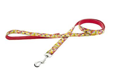 LEASH COLOR 10MMX120CM PINK PIXEL