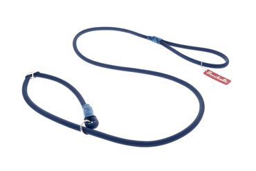 OFF FUN SILICON LEASH+COLLAR 1X165 BLUE