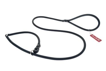 Изображение OFF FUN SILICON LEASH+COLLAR 1X165 BLACK