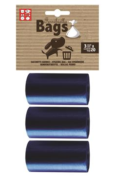 Bild von REPLACEMENT BAGS 3ROLLS X 20BAGS BLUE