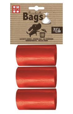 Bild von REPLACEMENT BAGS 3ROLLS X 20BAGS RED
