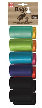 REPLACEMENT BAGS COL. 20X12ROLLS