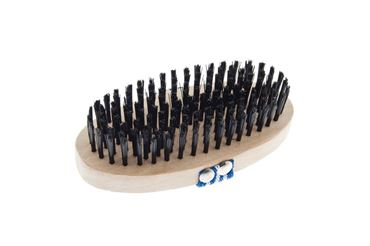 OVAL BRISTLE WOODEN BRUSH ECO