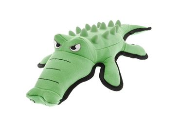 RUBBER SPIKED CROCODILE 39CM