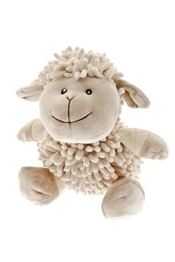 SHEEP TEDDY D.9,5CM-L.21CM