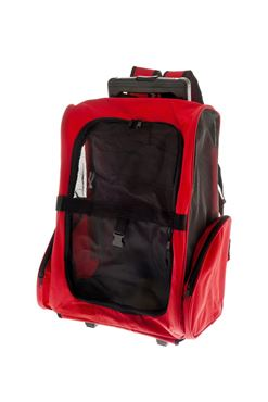 TROLLEY FUSS-TRAVEL EASY ROSSO