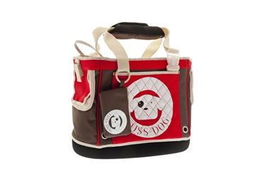 SAC CARRY BAG 38X18X33CM ROUGE