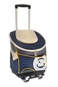 TROLLEY PET BAG 33X23,5X41CM BLEU