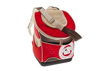 TROLLEY PET BAG 33X23,5X41CM ROUGE