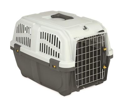 PET CARRIER SKUDO4 IATA IRON DOOR
