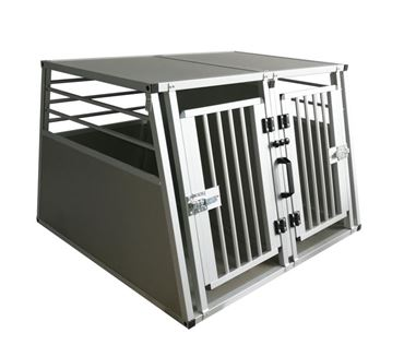 ALUMINUM CAGE DOUBLE DOOR 92X97X66