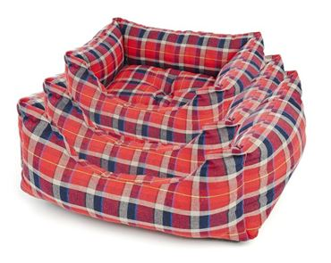RECTANG.DOG BEDS SOFT 3P.60-70-80CM