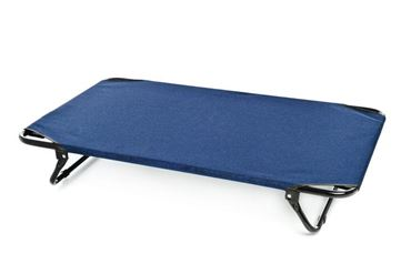 LIT DE CAMP SUPER CM.115X75 BLEU